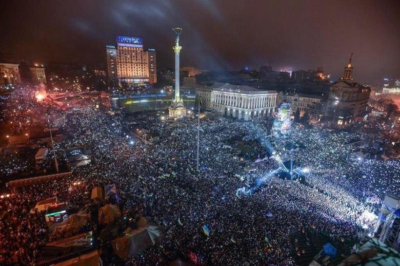La revolución de la dignidad en Ucrania