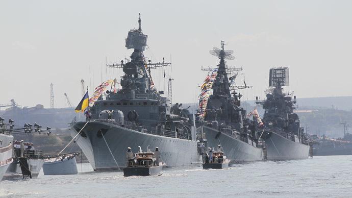 armada ucraniana en crimea