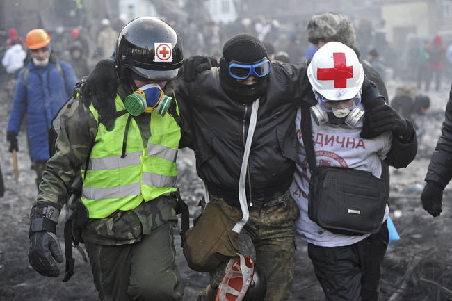 maydan ayuda médica_Ucrania_Kiev