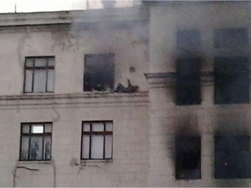 enfrentamiento en Odesa_Ucrania_separatistas rusos