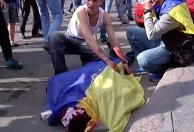 Activista pro ucraniano ha muerto a causa del disparo.