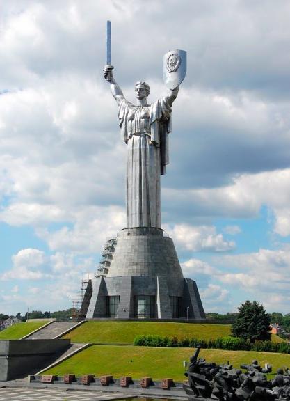 La Madre Patria, Kiev, Ucrania