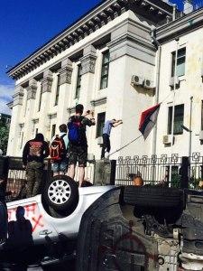 Embajada Rusa en Kiev