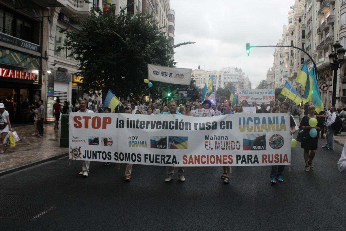 Día de la Bandera Ucraniana en Valencia