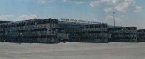 Aeropuerto de Donetsk hoy