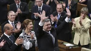 Presidente ucraniano Poroshenko fue recibido de pie y con aplausos largos en el congreso de Estados Unidos