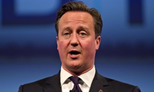 David Cameron insisted economic sanctions on Russia were having an impact. Photograph: Justin Tallis/AFP/Getty Images