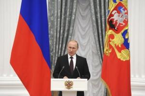 Presidente ruso, Putin.