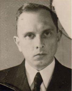Una de las primeras imágenes después de la liberación de Bandera. Alemania, 1946.