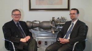 German rocket scientists Schmucker and Schiller. (photo Jeroen Akkermans / RTL News)