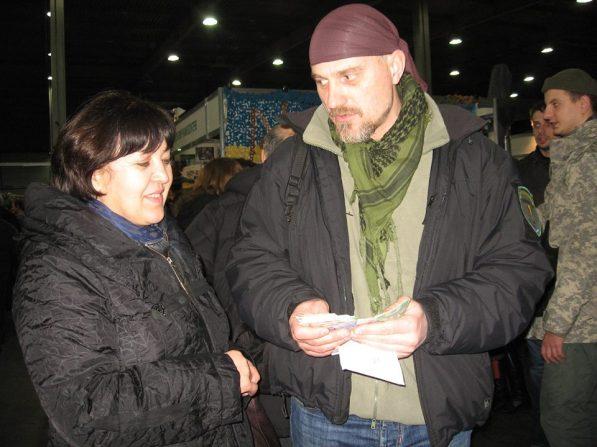 Tatiana con Bogdan Masliak
