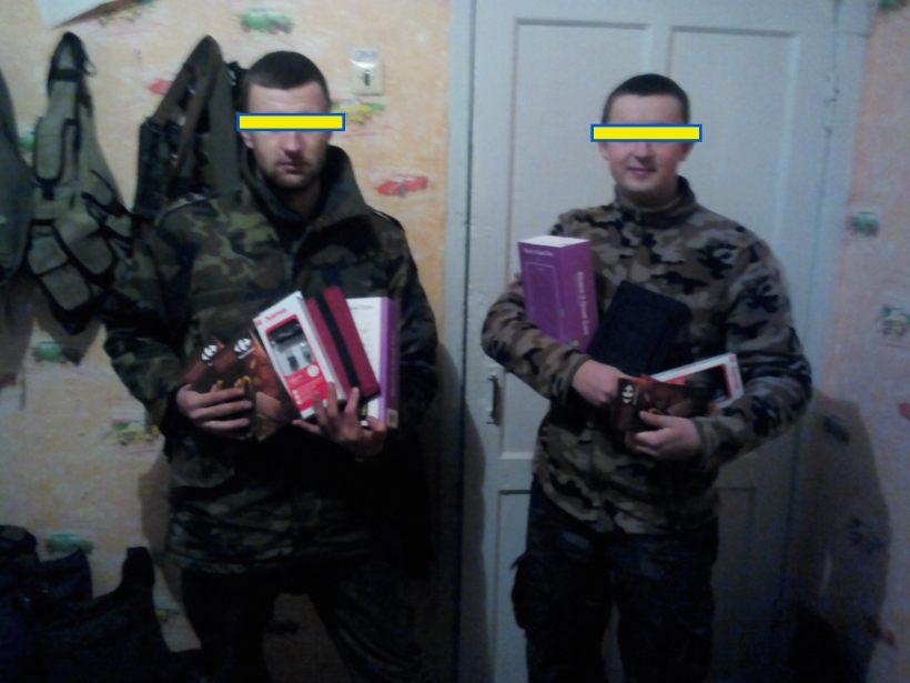 Brigada con las tablets