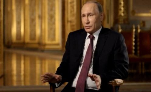 Putin en su nuevo documental, llamado