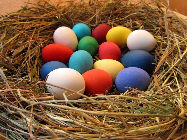 Krashanky, los huevos de pascua ucranianos coloreados