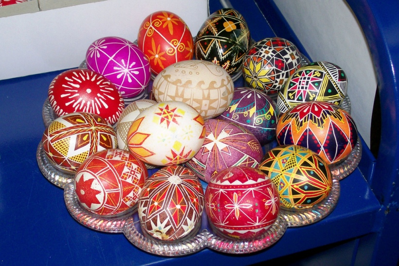 Huevos de pascua ucranianos