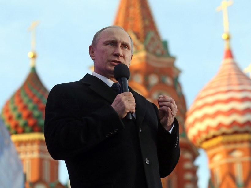 El propio Putin es mencionado directamente tres veces en el documento. Fotógrafo: Sasha Mordovets / Getty Images