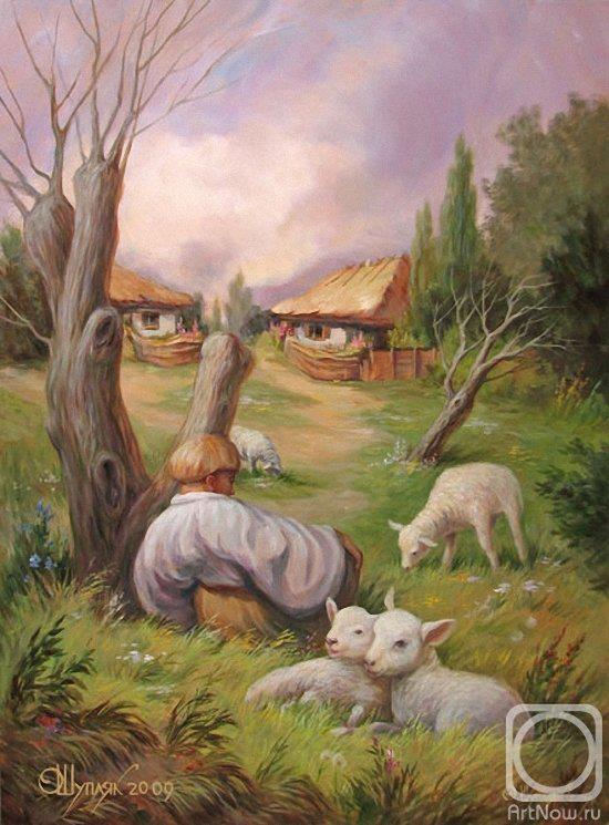 Taras Shevchenko en la ilusión óptica de Oleh Shuplyak