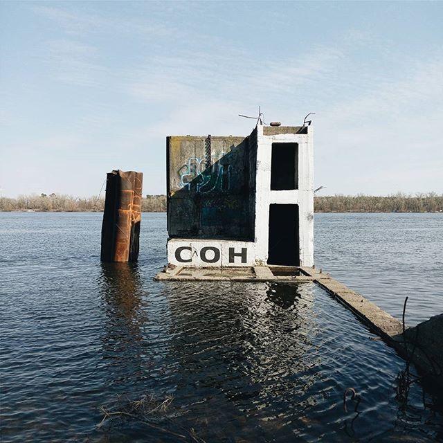 Río Dipro / Diéper Ucrania