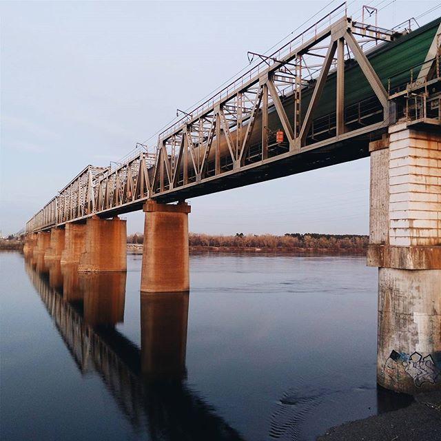 puente ferroviario de Kiev