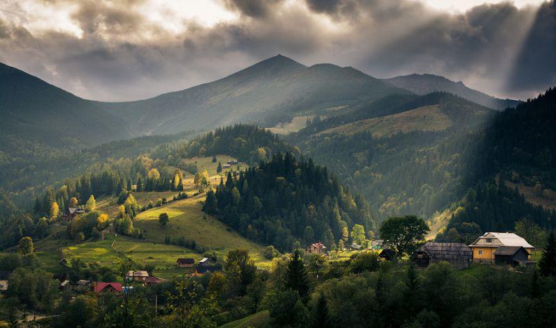 Ucrania, montaña
