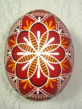 Huevo de Pascua ucraniano