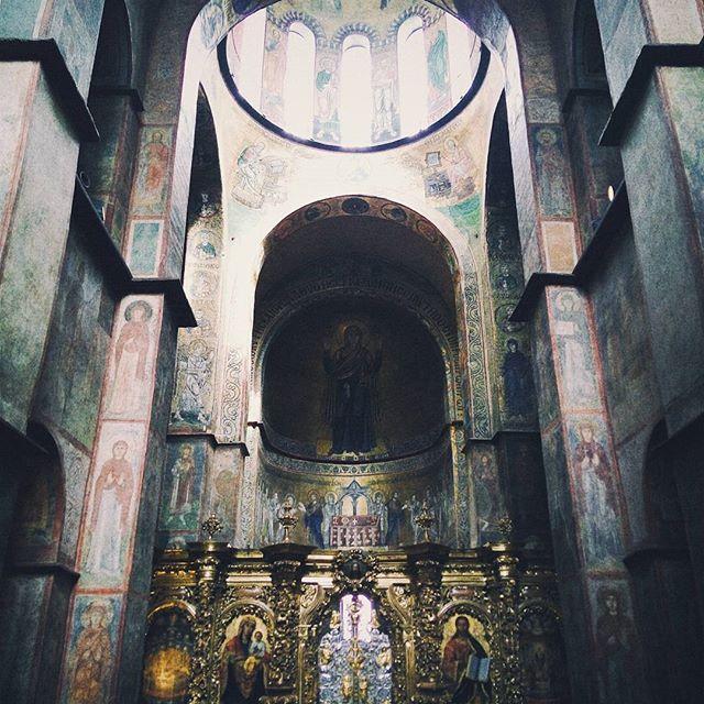 La catedral de Santa Sofía de Kiev / Kyiv