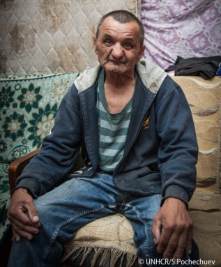Al hermano de Ihor Volodymyrovych lo mataron y se quedó solo en la calle.