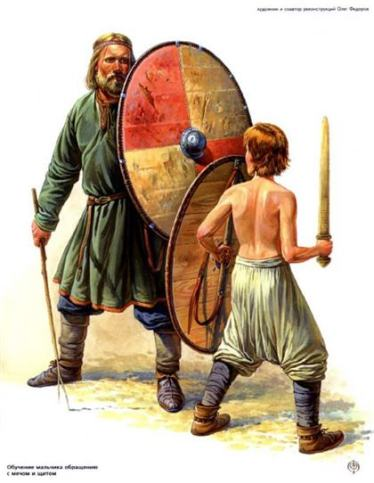 Preparando para el combate a los mas jovenes