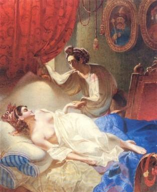 """Maria(1840) para el poema""""Poltava"""" de Pushkin"""