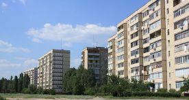 Edificios en la orilla izquierda