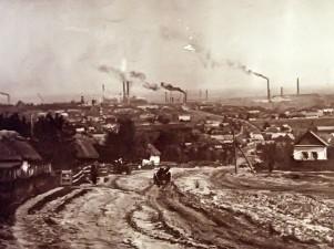 Kamianske a principios de siglo XX