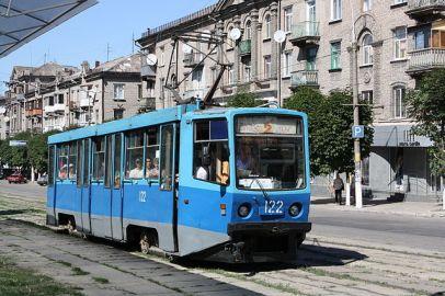 Tranvía en Kamianske