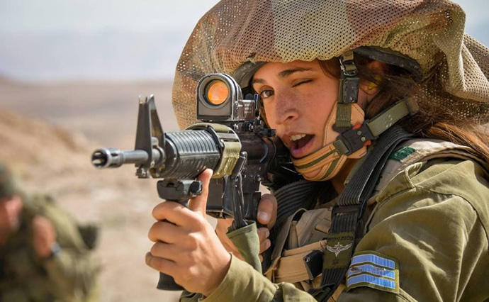 women-soldier-israel