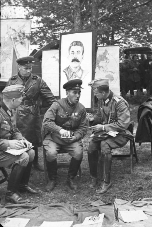 Polen, deutsch-sowjetische Siegesparade