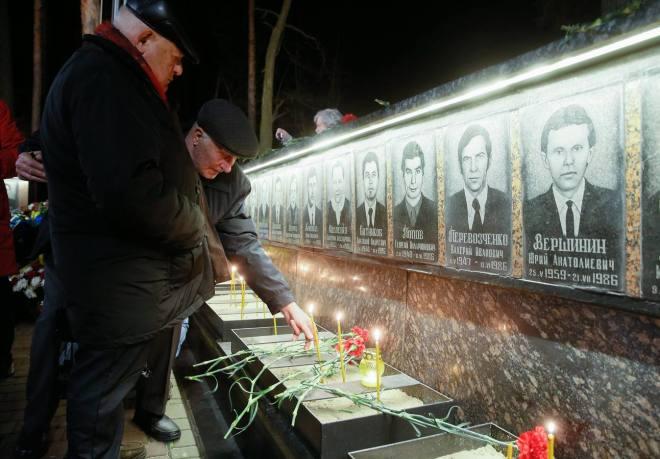 Ucranianos conmemoran el 31 aniversario de la tragedia de Chernobyl