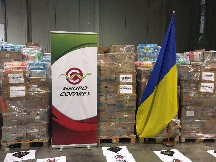 Ayuda Humanitaria Cofares Ucrania