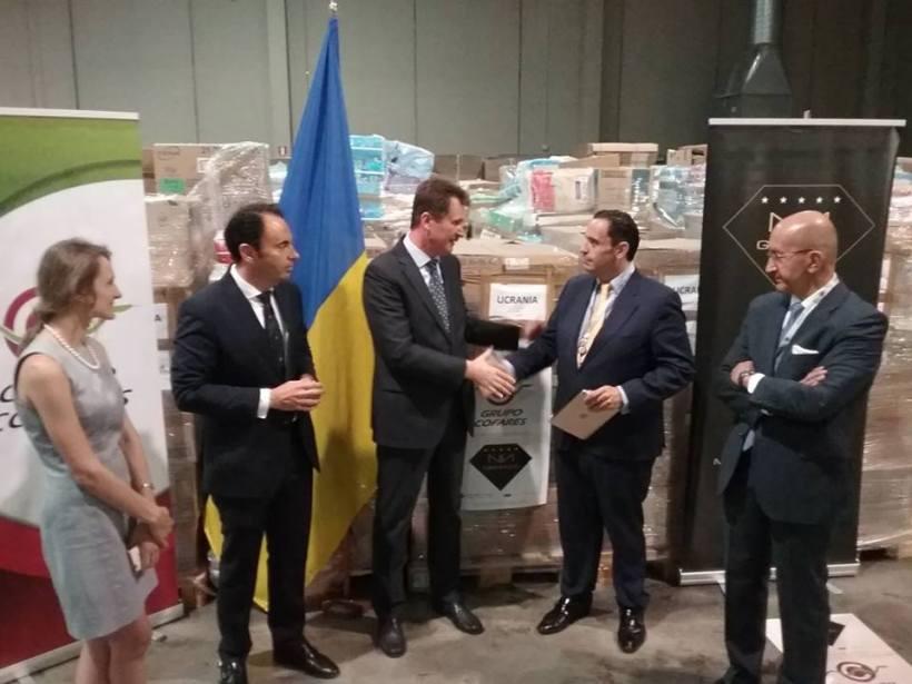 Ayuda Humanitaria Embajada Cofares