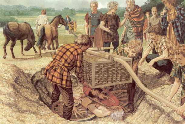 Rito funerario celta