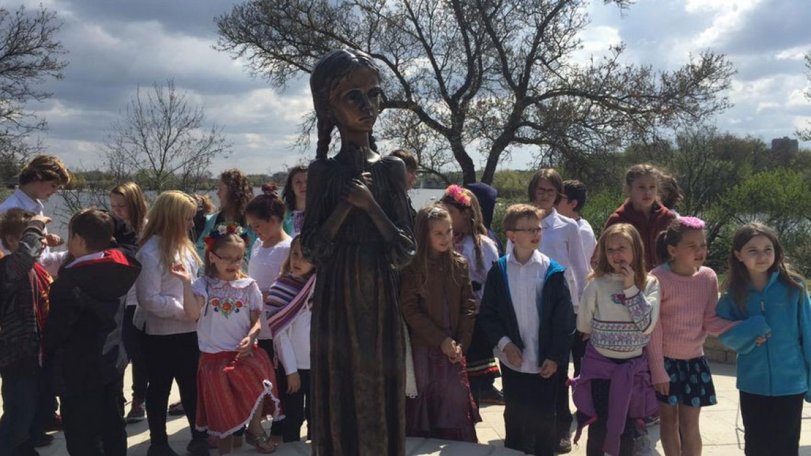 Monumento homenaje en Saskatchewan (Canadá)