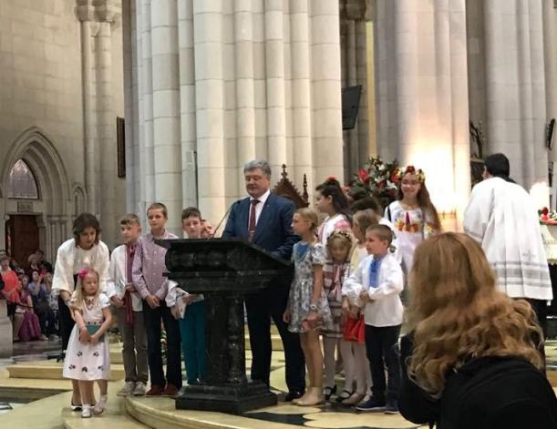 Poroshenko Presidente de Ucrania en España