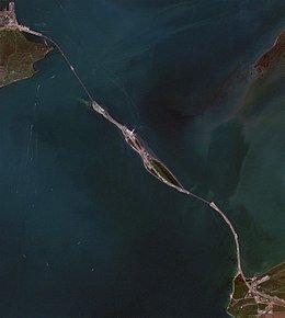 Foto aerea del puente