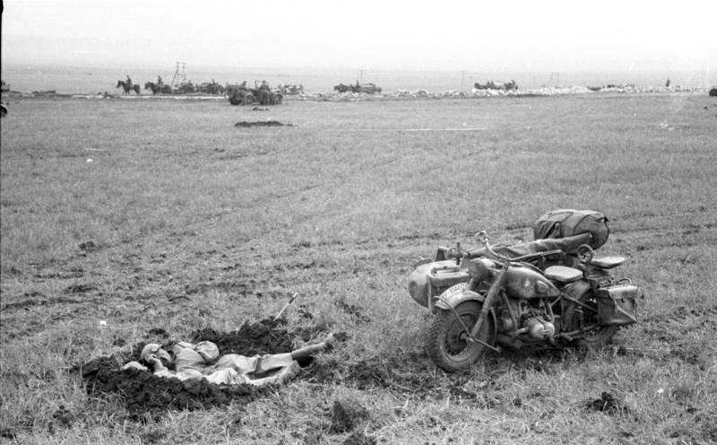 Foto de batalla en Kerch segunda guerra