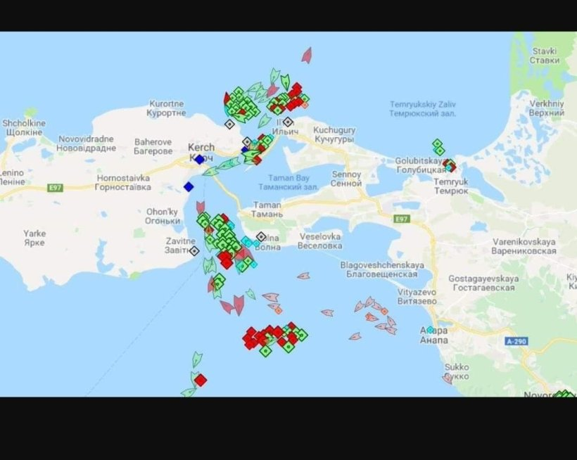 Grafica del conflicto 2018 en Kerch
